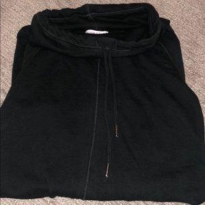 Funnel neck maternity sweatshirt